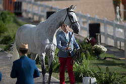 Lopez Rene, COL, Con Dios III<br /> Horse Inspection Jumping<br /> Olympic Games Rio 2016<br /> © Hippo Foto - Dirk Caremans<br /> 12/08/16