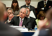 Jun 10, 2010 - Washington, District of Columbia, U.S., - Senator Bob Corker comments on the Wall Street Reform and Consumer Protection Act during a House-Senate Conference committee on Capitol Hill Thursday..(Credit Image: © Pete Marovich/ZUMA Press)