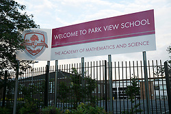© Licensed to London News Pictures. 09/06/2014. Alum Rock, Birmingham, UK. Park View Academy, one of the schools believed to have been put into special measures by OFSTED. Photo credit : Dave Warren/LNP
