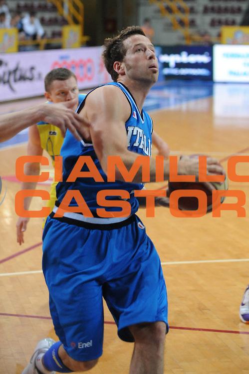 DESCRIZIONE : 06/06/2008 Verona Memorial Vicenzi Italia Ukcraina<br /> GIOCATORE : Robert Fultz<br /> SQUADRA : Nazionale Italia Uomini<br /> EVENTO : Memorial Vicenzi<br /> GARA : Italia Ukraina<br /> DATA : 06/06/2008<br /> CATEGORIA :  Penetrazione<br /> SPORT : Pallacanestro<br /> AUTORE : Agenzia Ciamillo-Castoria/M.Gregolin
