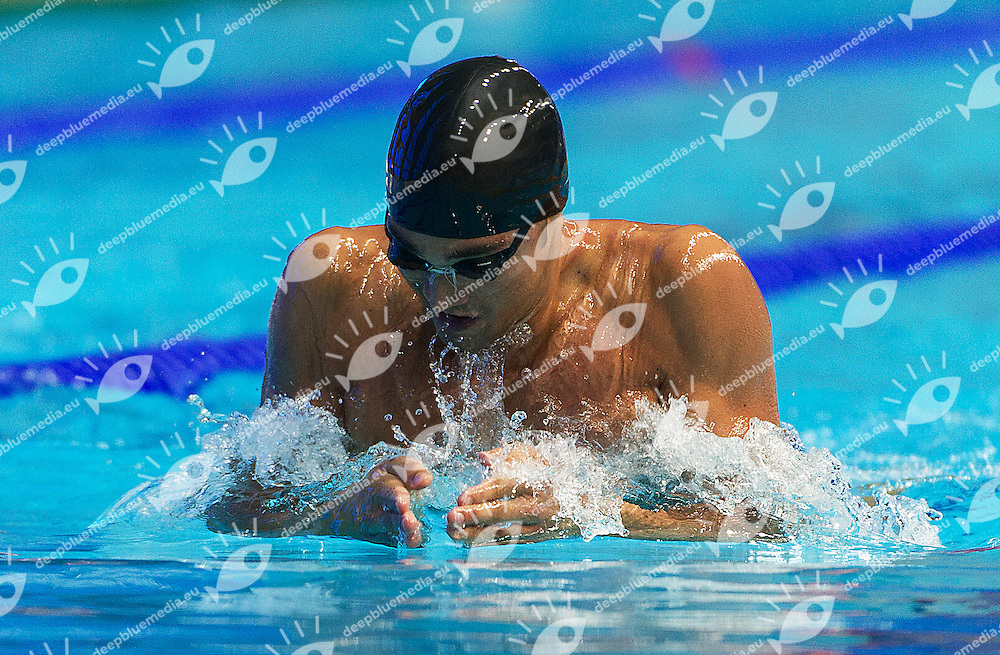 PIZZINI Luca Italy ITA<br /> 200 breaststroke men<br /> 27th Summer Universiade <br /> 5 - 17 July 2013 Kazan Tatarstan Russia<br /> Day 08 Swimming heats<br /> Photo G. Scala/Insidefoto/Deepbluemedia.eu