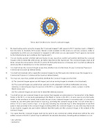 BCCI Image terms and conditions