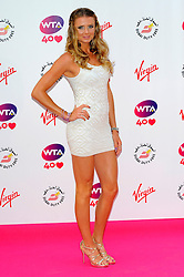 Wimbledon Party<br /> Daniela Hantuchova attends the annual pre-Wimbledon party at Kensington Roof Gardens,<br /> London, United Kingdom<br /> Thursday, 20th June 2013<br /> Picture by Chris  Joseph / i-Images