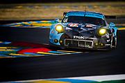 June 13-18, 2017. 24 hours of Le Mans. 77 Dempsey-Proton Racing, Porsche 911 RSR, Christian Ried, Marvin Dienst, Matteo Cairoli
