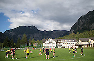 Dundee FC pre-season training camp in Obertraun Austria
