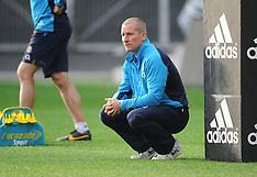 Dunedin-Rugby, England captain's run