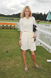 DONNA AIR at the 2009 Veuve Clicquot Gold Cup Polo final at Cowdray Park Polo Club, Midhurst, West Sussex on 19th July 2009.