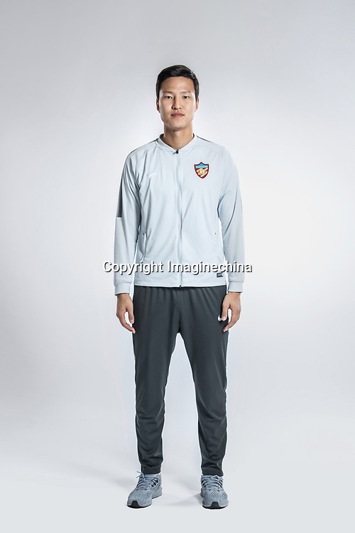 **EXCLUSIVE**Portrait of South Korean soccer player Kwon Kyung-won of Tianjin Quanjian F.C. for the 2018 Chinese Football Association Super League, in Yancheng city, east China's Jiangsu province, 9 February 2018.