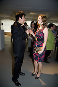Lang Lang and Hayley Westenra , The Mont Blanc de la Couture award at the Louise T Blouin Institute. Olaf St. London. 16 April 2008.  *** Local Caption *** -DO NOT ARCHIVE-© Copyright Photograph by Dafydd Jones. 248 Clapham Rd. London SW9 0PZ. Tel 0207 820 0771. www.dafjones.com.
