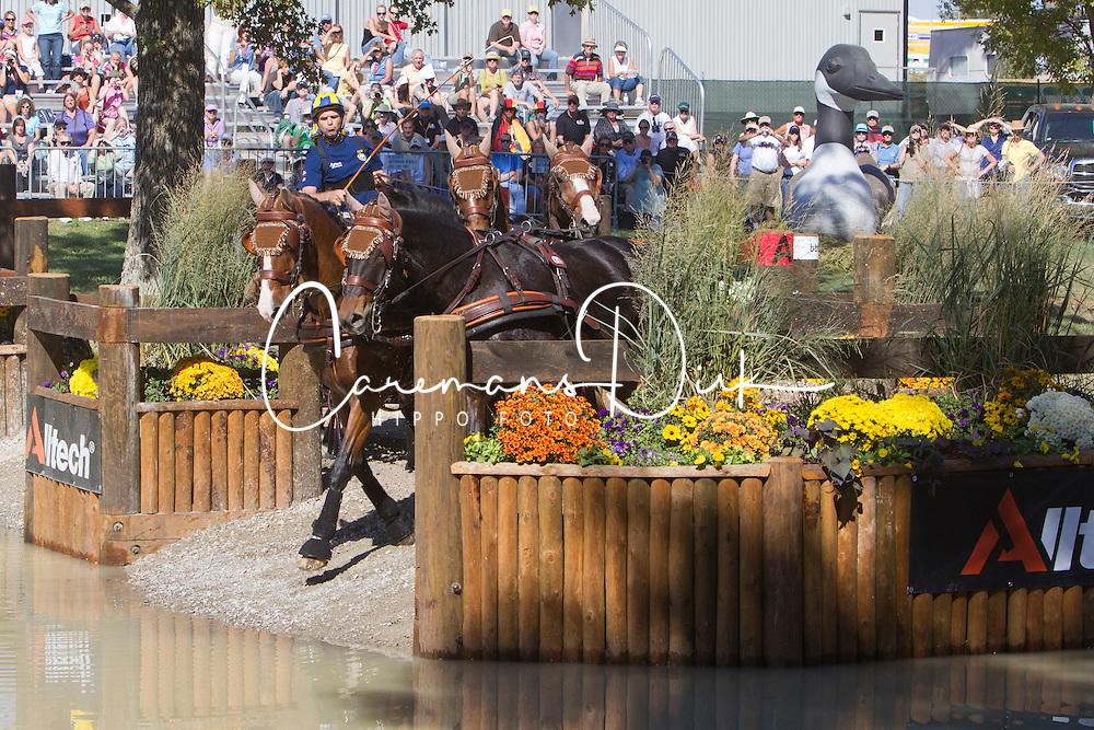 Tomas Eriksson  (SWE)<br /> Alltech FEI World Equestrian Games <br /> Lexington - Kentucky 2010<br /> &copy; Hippo Foto - Dirk Caremans