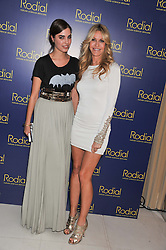 Left to right, AMBER LE BON and MELISSA ODABASH at the Rodial Beautiful Awards 2013 held at St Martin's Lane Hotel, St.Martin's Lane, London on 19th March 2013.