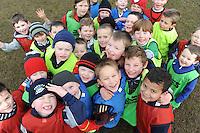 Training at  Creggmore Football Club. Photo:Andrew Downes.