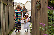 Kelly and Anthony get married at their home in St.Thomas Ontario, Saturday,  August 2, 2014.<br /> / Geoff Robins