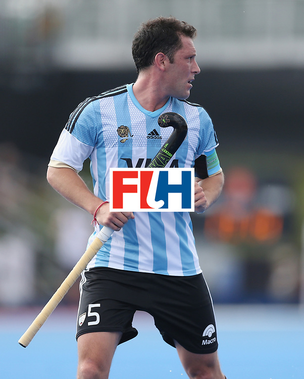 LONDON, ENGLAND - JUNE 18:  Pedro Ibarra of Argentina during the Hero Hockey World League Semi-Final match between England and Argentina at Lee Valley Hockey and Tennis Centre on June 18, 2017 in London, England.  (Photo by Alex Morton/Getty Images)