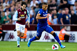 Richarlison of Everton goes past Jota of Aston Villa - Mandatory by-line: Robbie Stephenson/JMP - 23/08/2019 - FOOTBALL - Villa Park - Birmingham, England - Aston Villa v Everton - Premier League