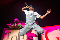 Tyler The Creator at The Bill Graham Civic Auditorium - San Francisco, CA - 11/16/15