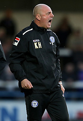 Rochdale Manager, Keith Hill - Photo mandatory by-line: Matt McNulty/JMP - Mobile: 07966 386802 - 21/04/2015 - SPORT - Football - Rochdale - Spotland Stadium - Rochdale v Leyton Orient - Sky Bet League One