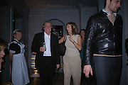 Mr. and Mrs. Frank Cohen. Jay Jopling and White Cube host a post Frieze opening party at Sketch. London. 20 October 2005. ONE TIME USE ONLY - DO NOT ARCHIVE © Copyright Photograph by Dafydd Jones 66 Stockwell Park Rd. London SW9 0DA Tel 020 7733 0108 www.dafjones.com