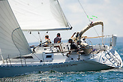 Simple Pleasures, Beneteau First 345, racing in the Flip Flop Regatta.