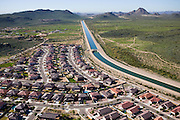 The Central Arizona Project Aqueduct (CAP) is a 336 mi (541 km) diversion canal in Arizona in the United States. The aqueduct diverts water from the Colorado River from Lake Havasu City near Parker into central and southern Arizona. The CAP is the largest and most expensive aqueduct system ever constructed in the United States. CAP is managed and operated by the Central Arizona Water Conservation District (CAWCD).