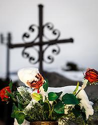 THEMENBILD - ALLERHEILIGEN UND ALLERSEELEN, am 1. November, gedenken Katholiken aller Menschen, die in der Kirche als Heilige verehrt werden. Das Fest Allerseelen am darauf folgenden 2. November, ist dem Gedaechtnis aller Verstorbenen gewidmet. Bild aufgenommen am 29.10.2012, Kaprun, Salzburg, Oesterreich // THEME PICTURE - ALL SAINTS AND ALLERSEELEN, on 1 November, Catholics remember all people who are venerated as saints in the church. The festival Souls on the following second November is dedicated to the memory of all deceased, picture shot near Kaprun, Salzburg, Austria on 2012/10/29. EXPA Pictures © 2012, PhotoCredit: EXPA/ Juergen Feichter