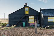 Dungeness, Kent, England, UK, October 1 2018 - Prospect Cottage, Derek Jarman's former retreat.