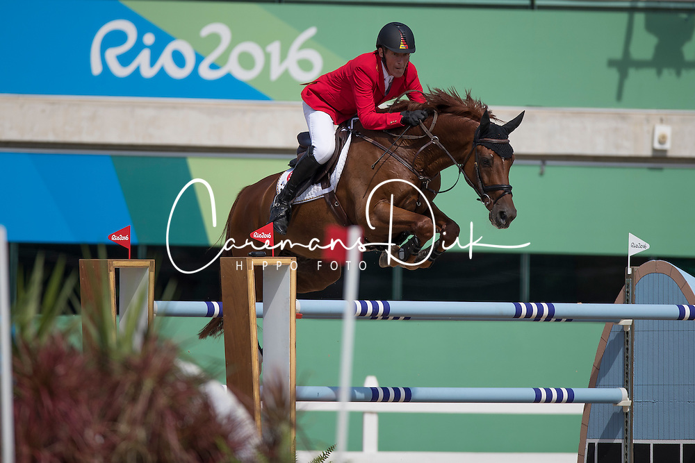 Beerbaum Ludger, GER, Casello<br /> Olympic Games Rio 2016<br /> © Hippo Foto - Dirk Caremans<br /> 16/08/16