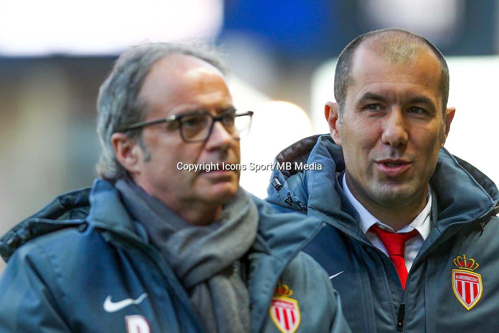 Luis CAMPOS / Leonardo JARDIM  - 14.01.2015 - Monaco / Guingamp - 1/4Finale Coupe de la Ligue<br /> Photo : Jean Christophe Magnenet / Icon Sport