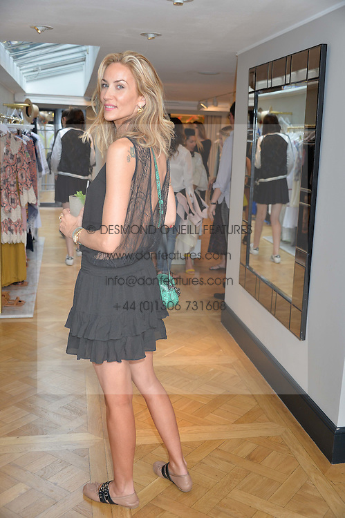 LISA BUTCHER at the launch of the new Salt store at 91 Walton Street, London on 7th July 2016.