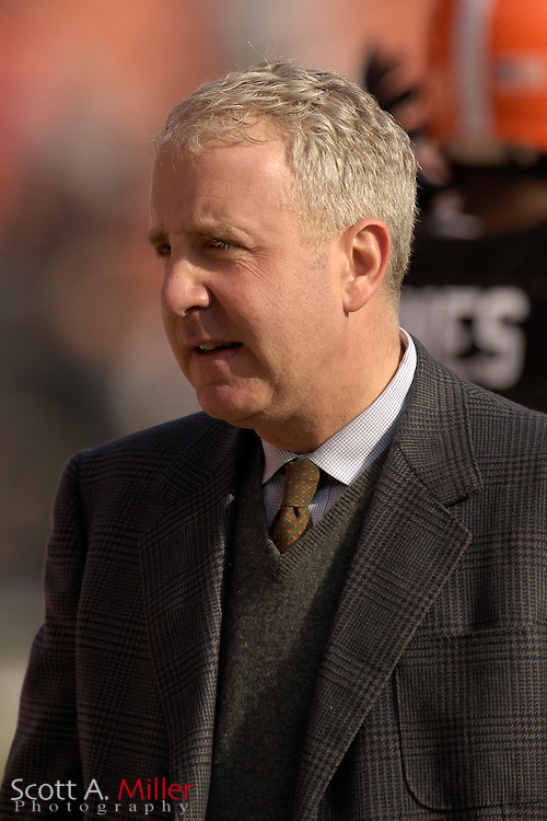 Nov. 26, 2006; Cleveland, OH, USA;  Cleveland Browns owner Randy Lerner at Cleveland Browns Stadium. ©2006 Scott A. Miller