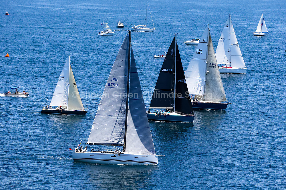 2017 TRANSPAC<br /> START  07_02_17<br /> &copy; Sharon Green / Ultimate Sailing