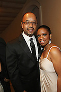 January 21, 2013-Washington, DC- Kevin Jenkins and Foliami Jenkins the BET Networks Inaugural Ball held at the Smithsonian National Art Museum and National Portrait Gallery on January 21, 2013 in Washinton, D.C. The 57th Presidential Inauguration celebrates the beginning of the second term of President Barack H. Obama. (Terrence Jennings)