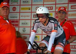 06.07.2019, Wels, AUT, Ö-Tour, Österreich Radrundfahrt, Prolog, Einzelzeitfahren (2,5 km), im Bild Patrick Gamper (AUT, Tirol KTM Cycling Team) // Patrick Gamper of Austria (Tirol Cycling Team) during the prolog, Individual time trial (2,5 Km) of the 2019 Tour of Austria. Wels, Austria on 2019/07/06. EXPA Pictures © 2019, PhotoCredit: EXPA/ Reinhard Eisenbauer