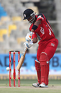 Lendl Simmons of Trinidad &amp; Tobago drives a delivery during match 16 of the Karbonn Smart Champions League T20 (CLT20) 2013  between The Titans and Trinidad and Tobago held at the Sardar Patel Stadium, Ahmedabad on the 30th September 2013<br /> <br /> Photo by Shaun Roy-CLT20-SPORTZPICS  <br /> <br /> Use of this image is subject to the terms and conditions as outlined by the CLT20. These terms can be found by following this link:<br /> <br /> http://sportzpics.photoshelter.com/image/I0000NmDchxxGVv4