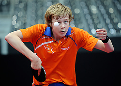 09-05-2011 TAFELTENNIS: WORLD TABLE TENNIS CHAMPIONSHIPS: ROTTERDAM<br /> Koen Hageraats<br /> ©2011-FotoHoogendoorn.nl