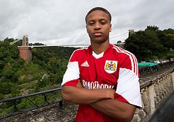 Bobby Reid of Bristol City - Photo mandatory by-line: Kieran McManus/JMP - Tel: Mobile: 07966 386802 31/07/2013 - SPORT - FOOTBALL - Avon Gorge Hotel - Clifton Suspension bridge - Bristol -  Team Photo