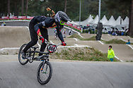 #888 (ROJAS Anna Sara) BOL at Round 6 of the 2018 UCI BMX Superscross World Cup in Zolder, Belgium