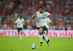 MUNICH, GERMANY - Tuesday, August 1, 2017: Liverpool's Emre Can during the Audi Cup 2017 match between FC Bayern Munich and Liverpool FC at the Allianz Arena. (Pic by David Rawcliffe/Propaganda)