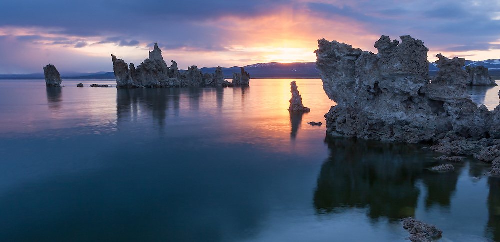 Sunrise at Mono Lake, CA, USA