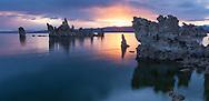 Sunrise at Mono Lake, CA, USA