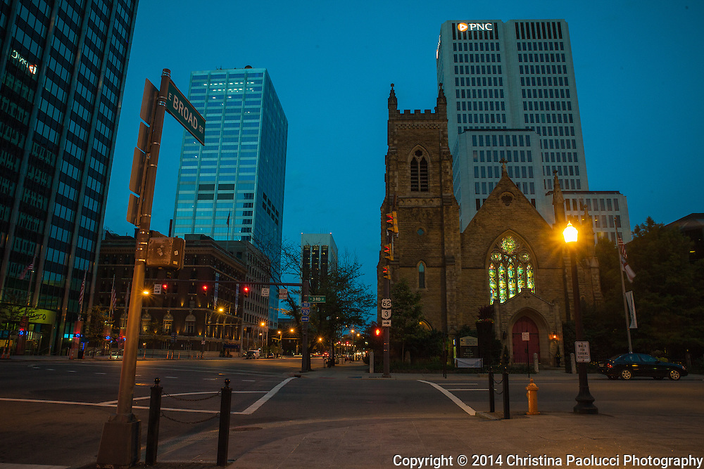 Downtown Columbus June 15, 2014. (Christina Paolucci, photographer)