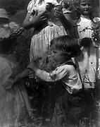 Happy days by  Gertrude Käsebier,  1852-1934, photographer:  Photograph shows four children