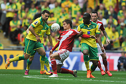Middlesbrough Jelle Vossen, Middlesbrough v Norwich, Sky Bet Championship, Play Off Final, Wembley Stadium, Monday  25th May 2015