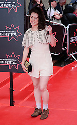 Edinburgh International Film Festival, Sunday 26th June 2016<br /> <br /> Stars turn up on the closing night gala red carpet for the World Premiere of &quot;Whisky Galore!&quot;  at the Edinburgh International Film Festival 2016<br /> <br /> Game of Thrones star Ellie Kendrick, who plays Catriona Macroon in the film.<br /> <br /> (c) Alex Todd | Edinburgh Elite media