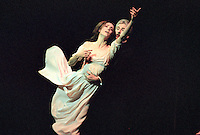 Sylvie Guillem and David Drew in Margueritte and Armand. Mariinsky Theatre,St. Petersburg, Russia