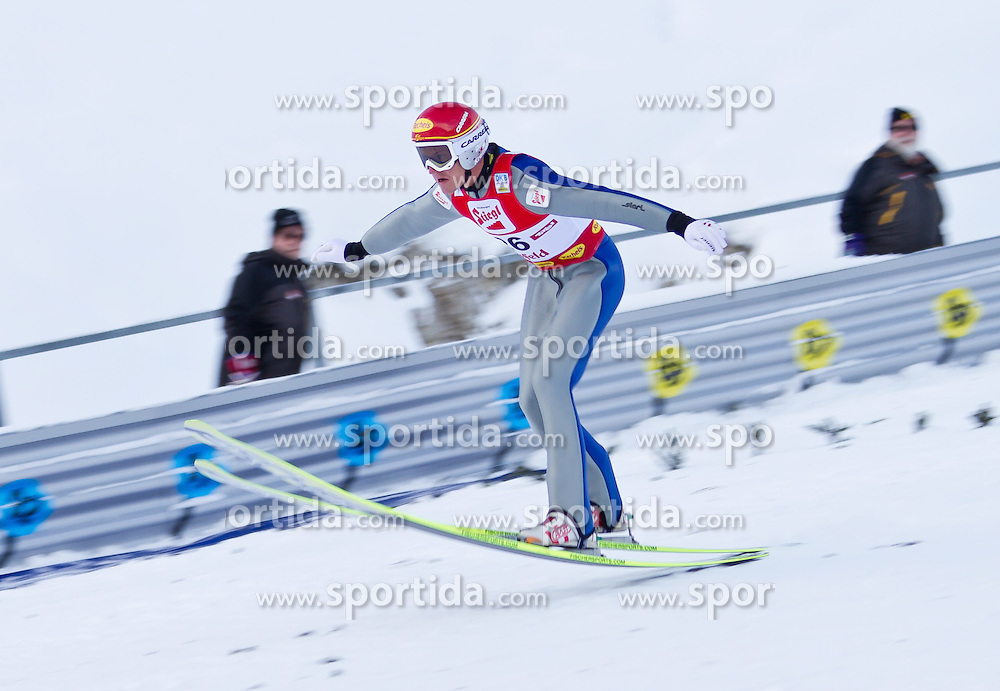 19.12.2011, Casino Arena, Seefeld, AUT, FIS Nordische Kombination, Ski Springen HS 109, im Bild David Kreiner (AUT) // David Kreiner of Austria during Ski jumping at FIS Nordic Combined World Cup in Sefeld, Austria on 20111211. EXPA Pictures © 2011, PhotoCredit: EXPA/ P.Rinderer