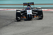 November 21-23, 2014 : Abu Dhabi Grand Prix. Sergio Perez (MEX), Force India-Mercedes
