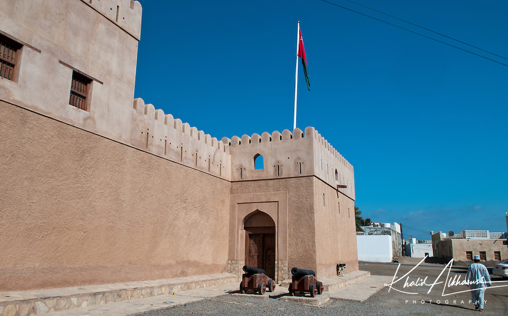 Bilad Sur Castle in Al Sharqiyah South Governorate.