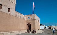 Bilad Sur Castle in Al Sharqiyah South Governorate.