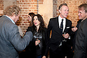 JOHN WEBSTER; LAUREN KEMP; GARY KEMP, The launch party of HiBrow and A Mighty Big If. ÊThe Crypt. St. Martins in the Fields. London. 24 January 2012<br /> JOHN WEBSTER; LAUREN KEMP; GARY KEMP, The launch party of HiBrow and A Mighty Big If.  The Crypt. St. Martins in the Fields. London. 24 January 2012